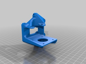 Anycubic delta effector for Titan Aero extruder