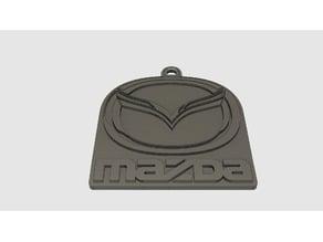 Mazda Logo Key Fob