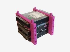 Modular 3.5-inch Form Factor HDD Array Mount