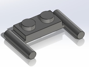 Lego 2 x 1 with Handles