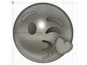 Emoji Kiss Love