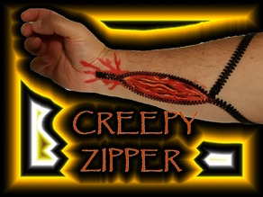 CREEPY ZIPPER SET