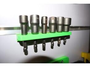 drill socket holder