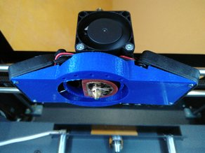 Fan Duct for CraftBot +
