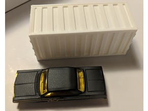 Gaslands - Shipping Containers Sliding Lid box