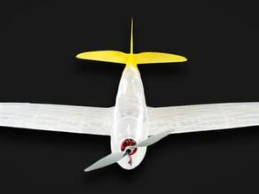 RC Thunderbolt, Wing test part, Slic3r version