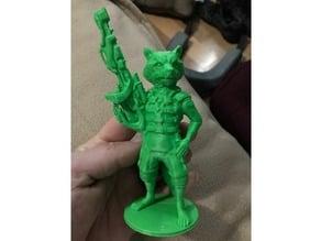 Rocket (raccoon) from Guardians