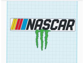 Nascar Monster energy logo