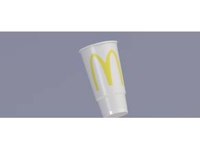 Revearse engineered McD's cup