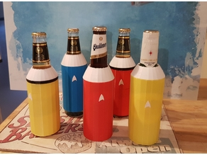 STAR TREK BEER INSULATOR