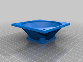 My Customized 40 to 80 fan size conversion adapter
