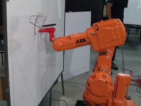 Dynamic Marker and Eraser tool for industrial robot