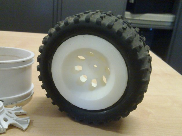 RC 1:10 monster truck rims, various sizes by thingowok