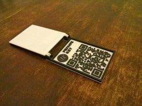 Bitcoin Ingot: Plastic Bitcoin Wallet