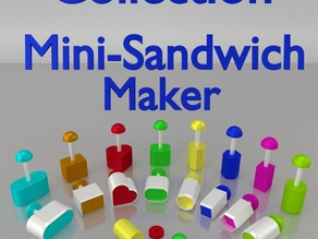 Mini-Sandwich Maker - OpenScad