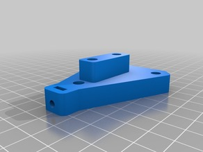 Bianca - 3 Wheeled Z axis carriage for openbuilds Anti-Backlash Nut Block