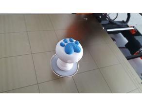 kitty footprint knob