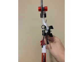 Miniature Compound Bow - Modified Arrow Rest
