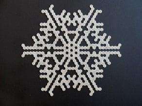 Cellular automaton BlocksCAD snowflake generator