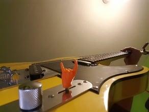 Guitar switch knob