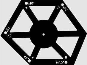 PolyGauge / Multiwinkel Lasercut
