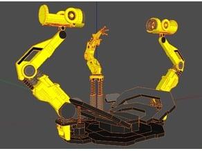 Iron Man Gantry System