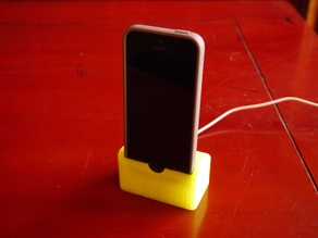 Weighted iPhone 5 Dock with Room For Case