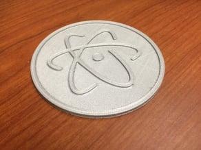 Atom Editor Coaster