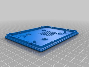 Case for Pi 5in HDMI touch screen REMIX w Bracket