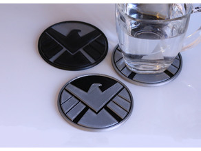Multi-Color S.H.I.E.L.D. Coaster