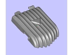 Caliper Battery door