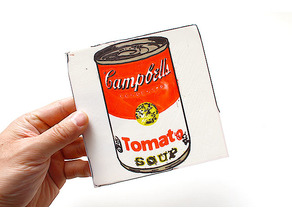 Campbell soup by 3D printer