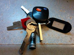 Key Chain ID Tag