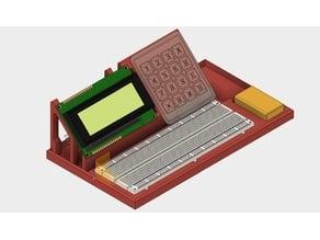 Breadboard+LCD+Keypad