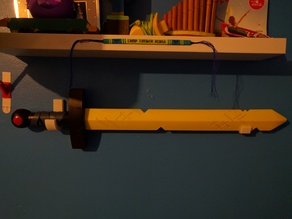 Adventure Time Sword Mounts