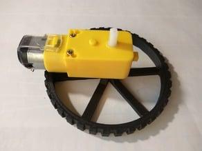 Wheel for DC motor