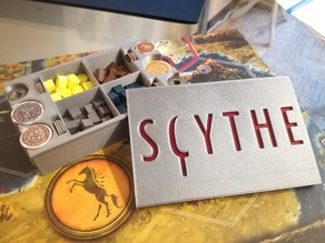 Scythe resources and coins organizer