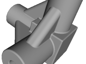 Just a way to make public the issue of the faulty mini printer: Cube support for 3,25mm. rods