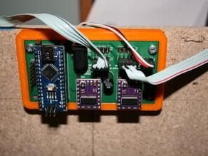 Eggbot/Spherebot/polargraph PCB mount for ver 2.1 and later