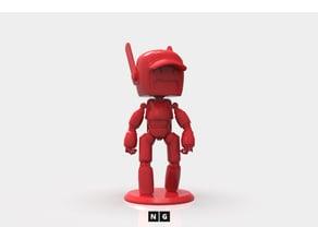LDR Little Robot - Desktop Minature