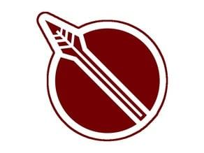 Pyrrha Nikos Symbol Cookie Cutter