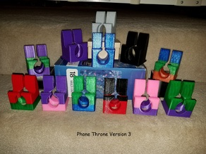 The Phone Throne - Charging Phone Holder