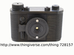 terraPin Bijou  6 x 4.5 Pinhole Camera