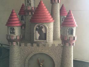 Disney inspired Castle Clock
