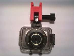 Picatinny Mount for the Jaytech DV123 Action Camera
