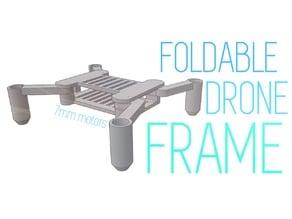 Foldable frame - 7mm motors (Don't need screws)