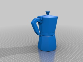 3D Printable Moka Pot