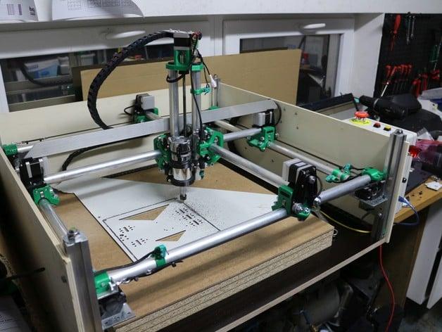 Mostly Printed CNC