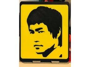 Cadre Portrait Bruce_Lee