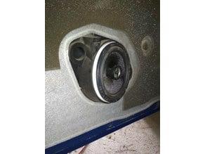 speaker's spacer for peugeot 206 (+10mm)